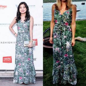 H&M Conscious Collection Tropical Rainforest Dress